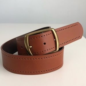 Liz Claiborne Brown Leather Belt Size Small